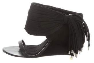 Alexander Wang Multistrap Wedge Sandals