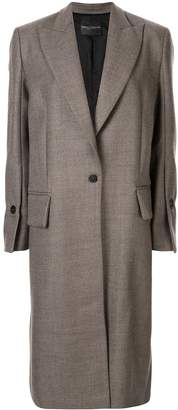 Cavallini Erika magnani single breasted overcoat