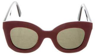 f0cb02da5a Celine Red Women s Sunglasses - ShopStyle