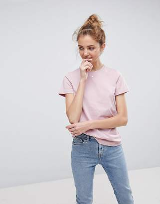 Asos DESIGN ultimate crew neck t-shirt in nude pink