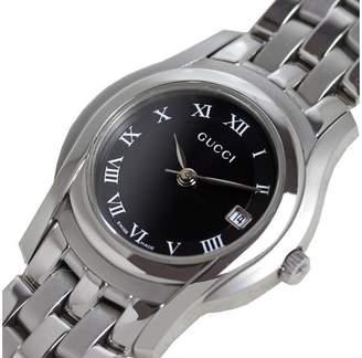Gucci G Class YA055503 Stainless Steel Quartz Black Dial Womens 27mm Watch