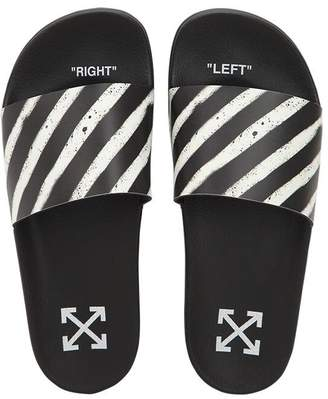 Off-White Spray Stripes Slide Sandals