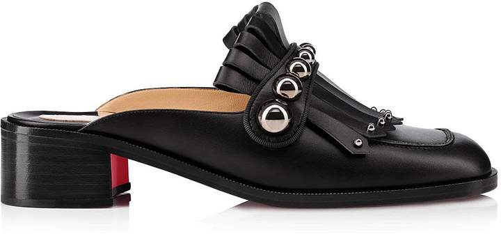 Louboutin Octavian Mula Slippers