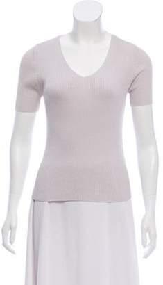 Burberry Silk Rib Knit Sweater w/ Tags Silk Rib Knit Sweater w/ Tags