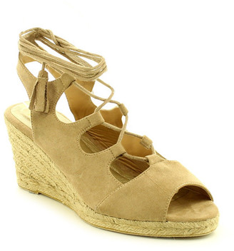 Refresh Cairo Lace-Up Wedge Sandal $42.99 thestylecure.com