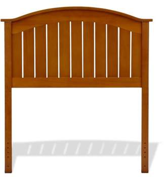 Leggett & Platt Finley Wooden Headboard Panel with Curved Top Rail Design, Maple Finish, Twin
