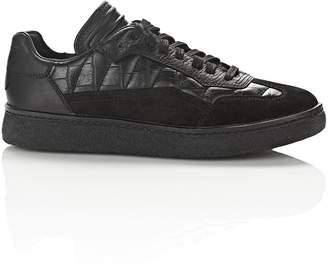 Alexander Wang Croc Embossed Eden Low Top Sneakers