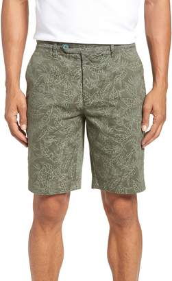 Ted Baker Leaf Print Shorts