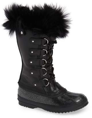 Sorel Joan of Arctic(TM) Lux Waterproof Winter Boot with Genuine Shearling