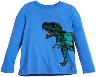Joules Finlay T-Rex Long-Sleeve T-Shirt, Size 2-6