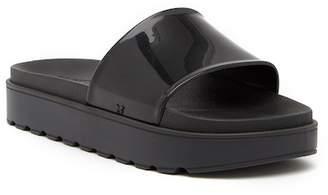 Zaxy Upload Platform Slide Sandal