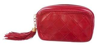 Chanel Lambskin Quilted Clutch