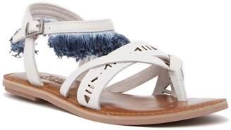 Toms Lexie Fringe Leather Thong Sandal