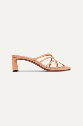 Neous Mannia Leather Sandals - Beige