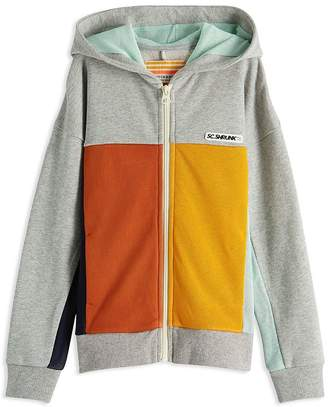 Scotch Shrunk Boys' Color-Block Full-Zip Hoodie - Little Kid, Big Kid