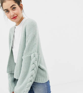 f7c0cb6b66d6 Oneon OneOn hand knitted cable cardigan