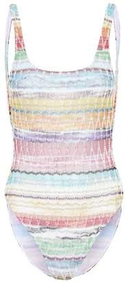 Missoni Mare Crochet knit swimsuit