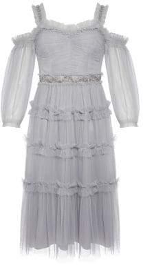Needle & Thread Ruffle A-line Dress