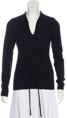 Ralph Lauren Embellished Cashmere Sweater
