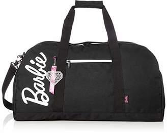 Barbie (バービー) - [バービー] ボストンバッグ ショルダーベルト付き 41L 33cm 59058 01 ブラック