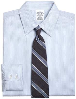 Brooks Brothers Regent Fitted Dress Shirt, Heathered Candy Stripe
