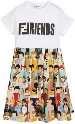 Fendi Kids friends dress