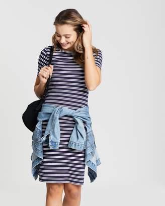 Dorothy Perkins Striped Body-Con Dress