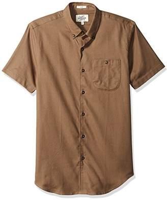 Casual Terrains Men's Tailored Slim-Fit Versatile Button-Down Buttoned Pocket Shirt .