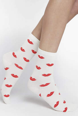 Hansel from Basel Lips Crew Socks