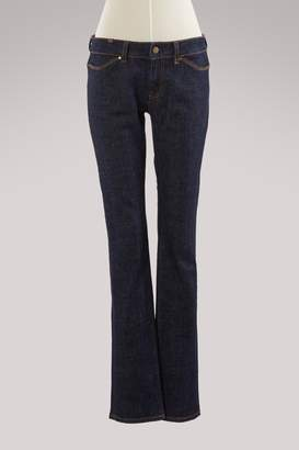 Atelier Notify Anemone 34 4-Pocket Straight Cut Blue Raw Denim Jeans