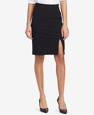 Lauren Ralph Lauren Side-Slit Pencil Skirt $89.50 thestylecure.com