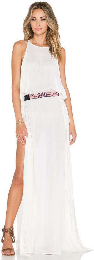 Indah Twiga Open Side Maxi Dress