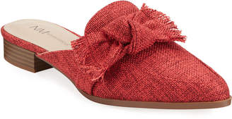 Charles David Eager Tight-Woven Bow Mules