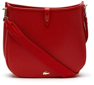 30341c542754 Lacoste Women s Chantaco Pique Leather Hobo Bag