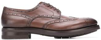 Santoni thick sole brogues