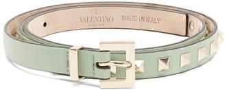 Valentino Rockstud skinny leather belt