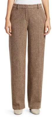 Loro Piana Adam Donegal Cashmere& Silk Trousers