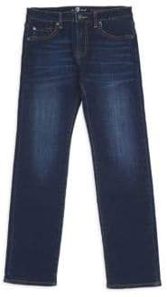 7 For All Mankind Little Boy's & Boy's Standard Straight-Leg Jeans