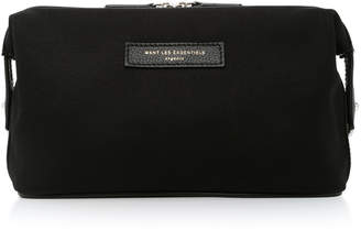 WANT Les Essentiels Kenyatta Canvas And Leather Dopp Kit