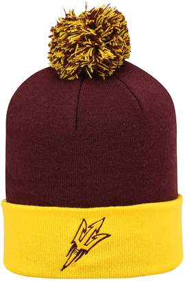 Top of the World Adult Arizona State Sun Devils Pom Knit Hat