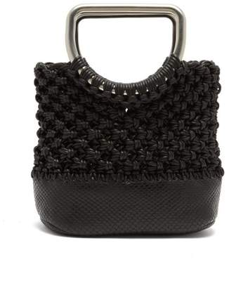 Proenza Schouler Market Macrame Mini Bag - Womens - Black