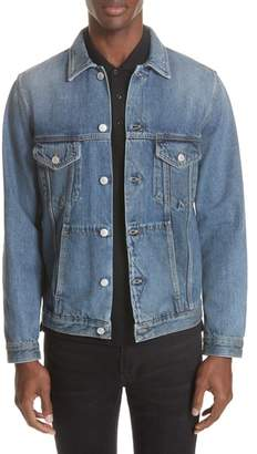 Givenchy Embroidered 4G Denim Jacket