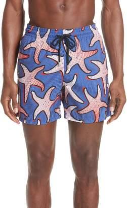 Vilebrequin Starfish Art Swim Trunks