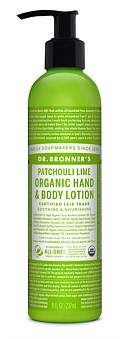 Dr. Bronner's Hand & Body Lotion 236Ml - Patchouli/Lime