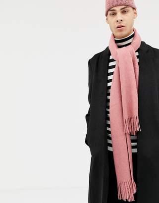 Asos Design DESIGN scarf in pink