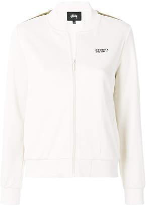 Stussy zipped sweatshirt