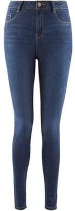Dorothy Perkins Womens Indigo 'Shape & Lift' Stretch Skinny Jeans