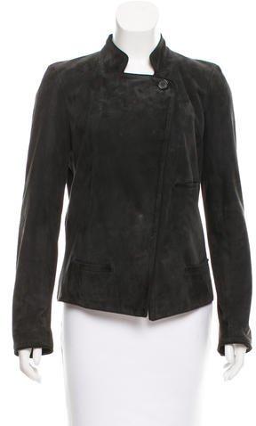 Chloé Chloé Suede Lightweight Jacket