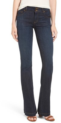 Women's Kut From The Kloth 'Chrissy' Flare Leg Jeans $88 thestylecure.com