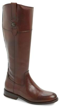 Frye Jayden Button Tall Leather Boot (Wide Calf Available)